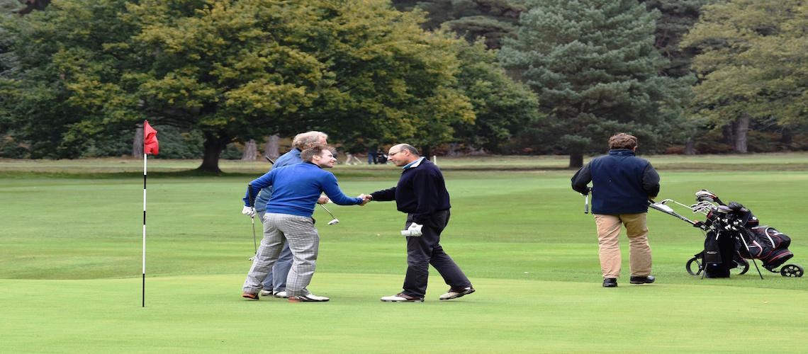 £500 raised for Womb Transplant UK at annual Lister golf tournament